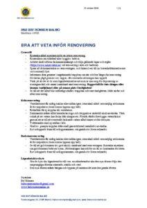 thumbnail of Rönnen-Renovering-lägenhet-Info-v2