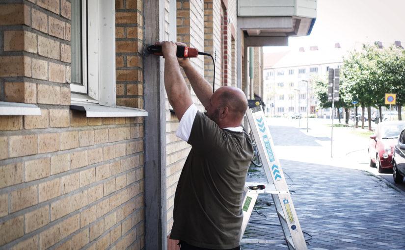 Fasadrenovering utförd